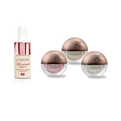 LA Splash Cosmetics Eyeshadow Loose Glitter - Crystallized Glitter (Set)
