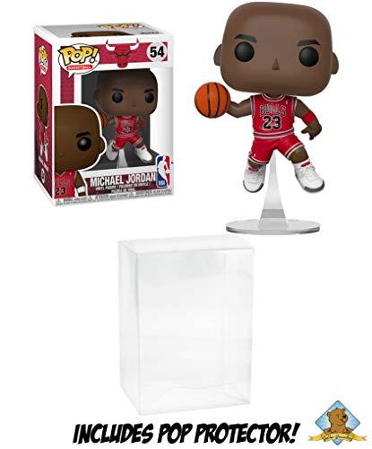 Michael Jordan NBA Bulls Collectible POP Figure Featuring Golden Groundhog Pop Protector