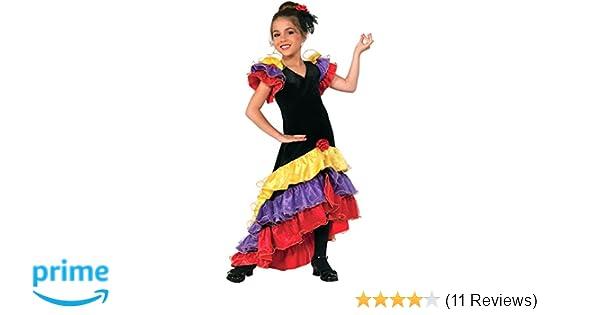 Forum Novelties Flamenco Dancer Costume, Medium