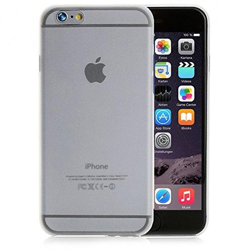 ArktisPRO federleichte Schutzhülle für Apple iPhone 6 Plus matt weiß/transparent