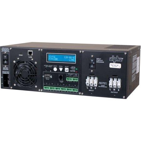 Alpha Technologies - 740-697-21 - Rack Mount Kit, Bracket, 3Ru, Black FXM 1100-2000