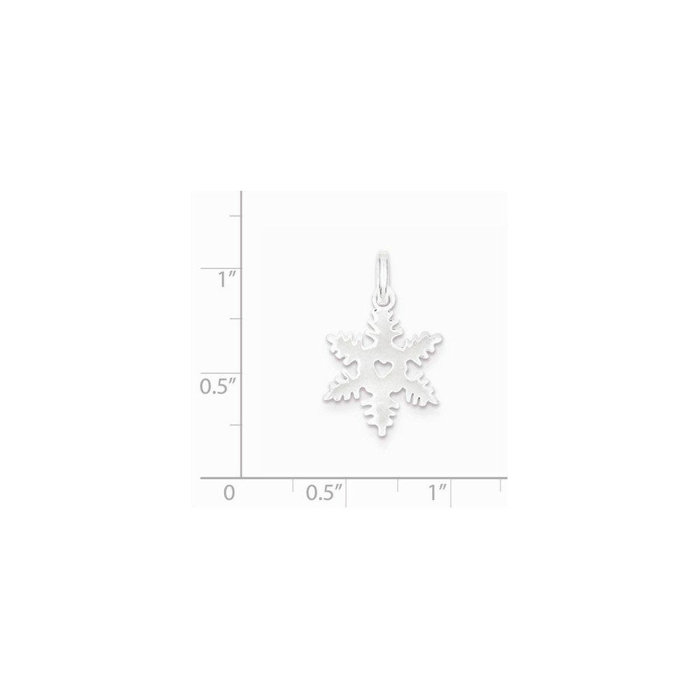 Goldia Sterling Silver Snowflake Charm