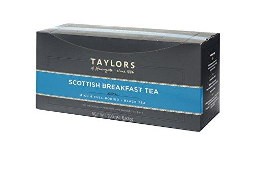 Taylors of Harrogate Wrapped Tea Bags, Scottish Breakfast, 100 (Harrogate Scottish Breakfast)