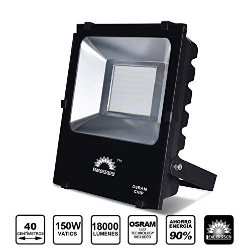 Foco Proyector LED de exterior 150w 18000lm luz neutra 4000K ...