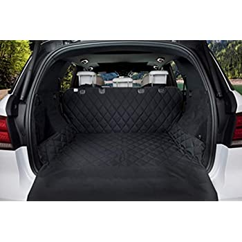 Amazon Com F Color Suv Cargo Liner For Dogs Waterproof