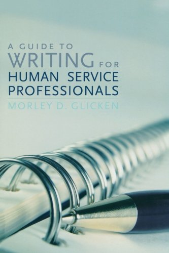 Download A Guide to Writing for Human Service Professionals pdf