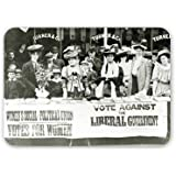 Suffragettes at a campaign stand, c.1910.. - Mouse Mat Art247 Highest Quality Natural Rubber Mouse Mats - Mouse Mat