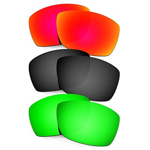 Hkuco Plus Mens Replacement Lenses For Costa Corbina - 3 pair