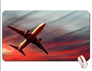 airplane wallpaper mouse pad super big mousepad Dimensions: 23.6 x 13.8 x 0.2(60x35x0.3cm)
