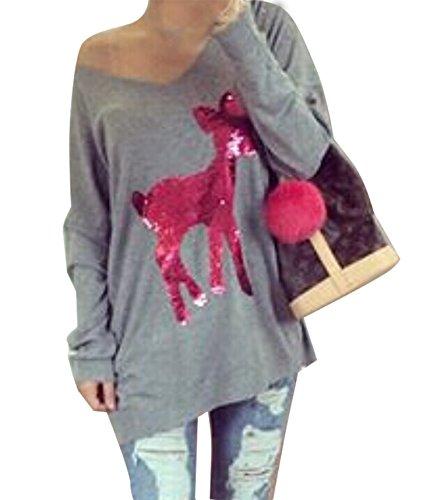 Cotton Animal Print V-neck Cardigan - 5