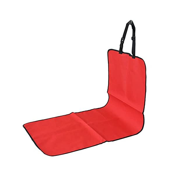 New 2 In 1 Car Rear Back Seat Cover Waterproof Pet Dog Protector Boot Mat Liner