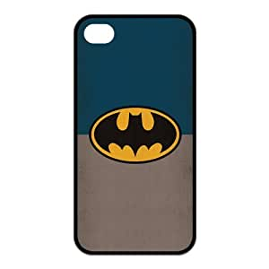 the Case Shop- Bat Man BatMan Bat man Super Hero TPU Rubber Hard Back Case Silicone Cover Skin for iPhone 4 and iPhone 4S , i4xq-802