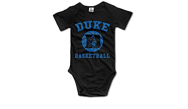 09024cf32 Amazon.com: ElishaJ Duke University Babys Boy's/Girl's Jumpsuit Outfits  Black: Clothing