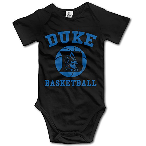 ElishaJ Duke University Babys Boy's/Girl's Infant Snapsuit Black Size 6 M