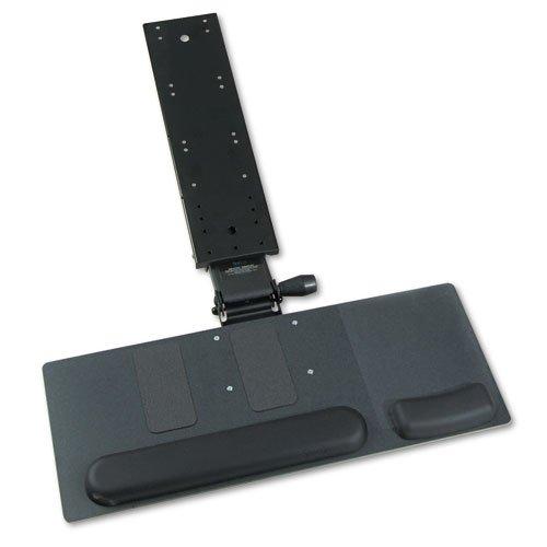 Safco - Ergo-Comfort Articulating Keyboard/Mouse Platform, 28w x 11-3/4d, Black Granite 2137 (DMi EA