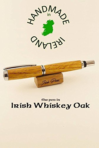 Irish whiskey gifts wooden barrel oak fountain pen writers gift best pen for smooth writing top of the best pens to write with personalize this pen and pen case great pen gift