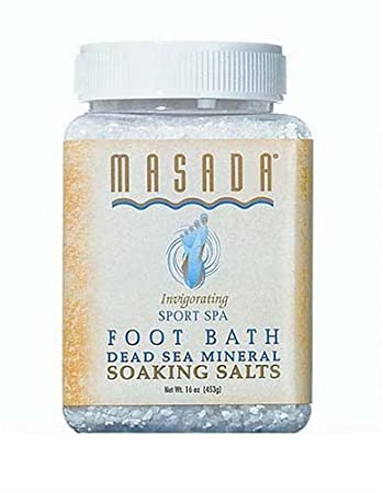 MASADA HEALTH AND BEAUTY Natural Sport Spa Foot Bath 1 LB