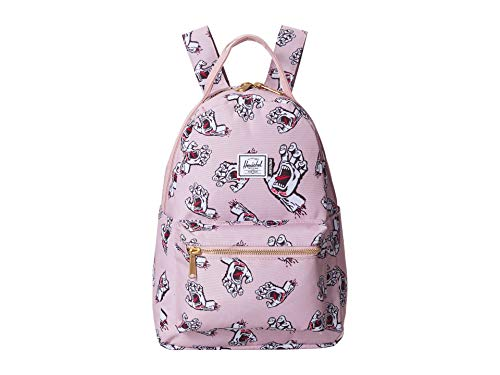 Herschel Supply Co. Unisex Nova X-Small Pale Mauve Screaming Hand One Size