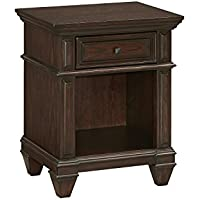 Home Styles 5029-42 Prairie Home Night Stand, Black Oak Finish