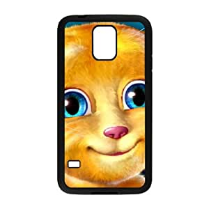 Samsung Galaxy S5 Cell Phone Case Black Talking Ginger, a cat Customized Plastic Phone Case Cover CZOIEQWMXN13975