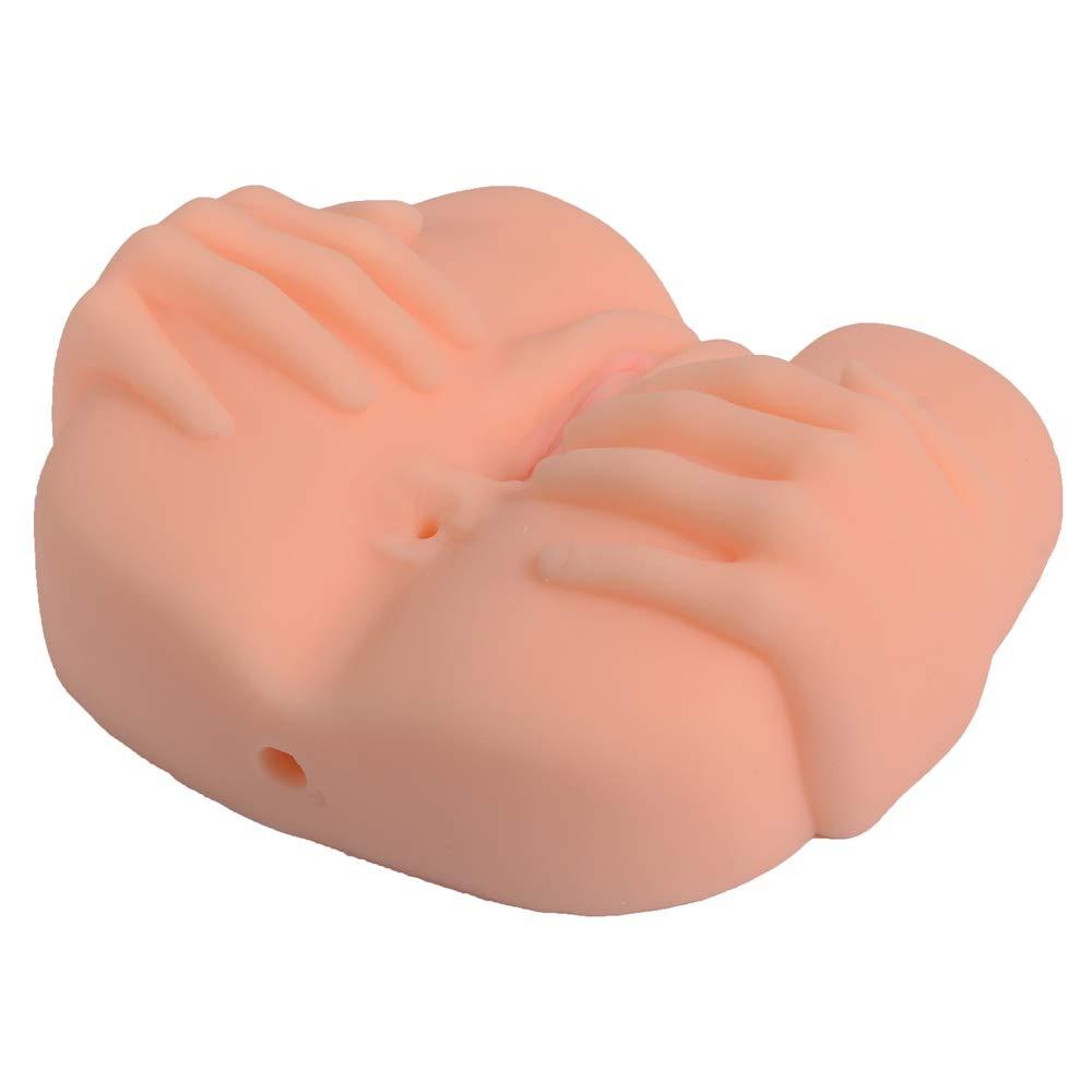 Perfekt 3D Silikon Finger Ass Männliche Masturbation Simulation Doppel Loch Loch Loch Ass Massage Erwachsenen Spielzeug, 18cm B07PDHC33H Eimer 97e0a1