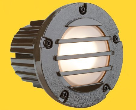 Corona Lighting CL-377-BZ Step Light in Bronze w/ Lamp 4-7/8'' x 4-5/8'' x 3-1/2''