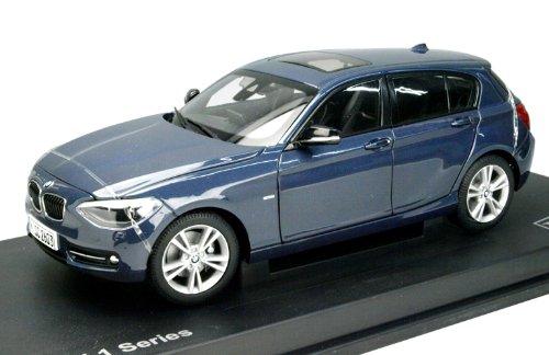 1/18 BMW 1シリーズ F20 ミッドナイトブルー 左ハンドル PA-97005