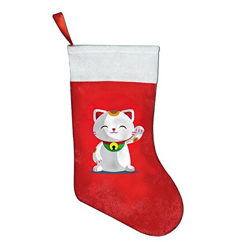 ror-maneki-lucky-cat-multi-pack-xmas-cute-warm-socks-christmas-gift