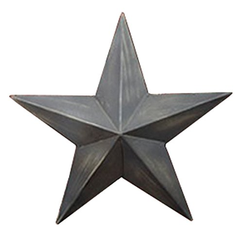 Country House Vintage Style Indoor Hanging Metal Barn Star