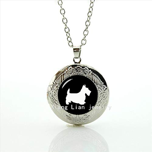 Jewellery Scottish Thistle (Pendant Necklaces - New Arrival Friendship Jewelry Fashion for Scottish Terrier Personalized Dong Pet Dog Wedding Groom Locket Necklace T504 - by Mct12-1 PCs)