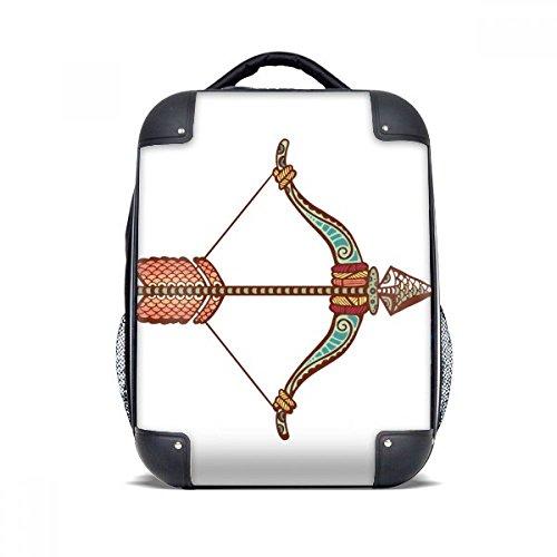 "Sagittarius Constellation Zodiac Symbol Hard Case Shoulder Carrying Children Backpack Gift 15"""