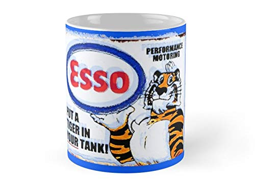 Army Mug Esso - Put a Tiger in Your Tank! Mug - 11oz Mug - Features wraparound prints - Dishwasher safe - Made from Ceramic - Best gift for family friends