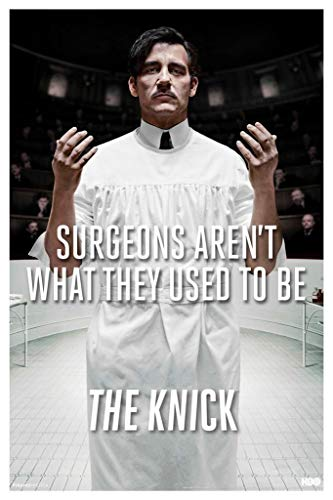 Pyramid America The Knick Thackery TV Show Laminated Dry Erase Sign Poster 18x12