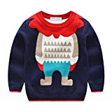 Product review for Mud Kingdom Boys Girls Christmas Deer Knit Sweater Pullover