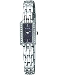 Pulsar Womens PEX541 Crystal Lapis Dial Watch