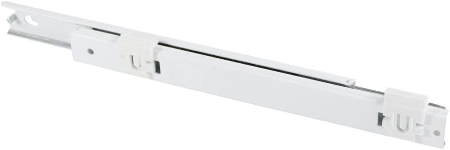 240579822 Refrigerator Crisper Drawer Slide Rail, Right Genuine Original Equipment Manufacturer (OEM) Part