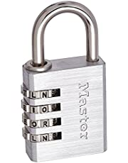 Master Lock 643DWD 1-9/16in. Wide Set Your Own WORD Combination Padlock