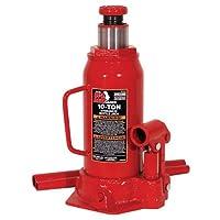 Botella hidráulica roja grande Torin Jack, capacidad de 10 toneladas