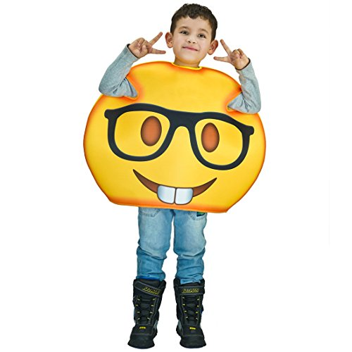 Children Unisex Emoji Costumes Glasses One Size …