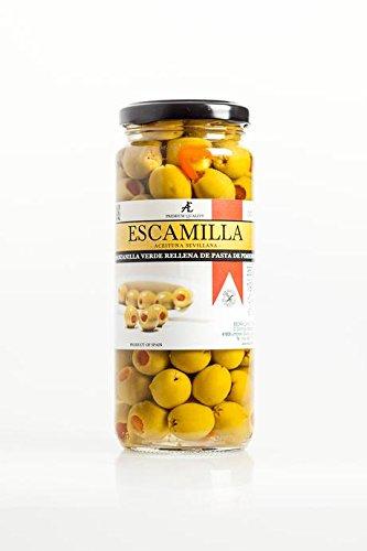 Escamilla Aceitunas Manzanilla Rellena de Pimiento, 317 g