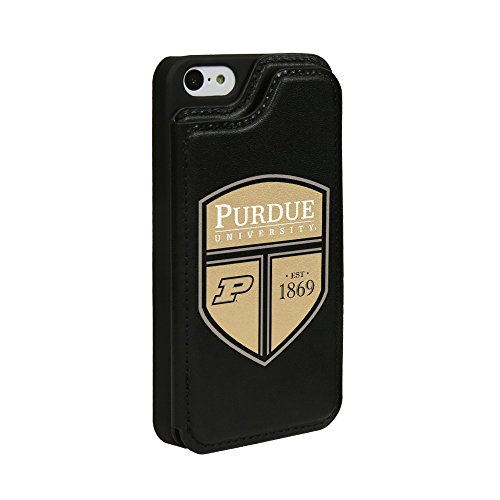 Guard Dog Purdue Boilermakers Genuine Leather Wallet Case for iPhone 5 / 5s / SE