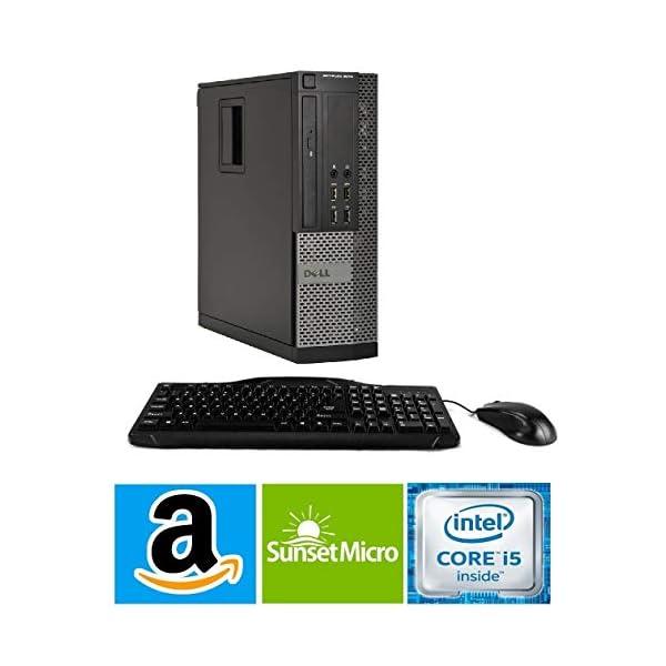 Dell Optiplex 7010 Business Desktop Computer (Intel Quad Core i5-3470 3.2GHz, 16GB RAM, 2TB HDD, USB 3.0, DVDRW, Windows 10 Professional) (Renewed)