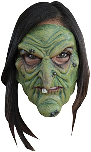 Ghoulish Productions Green Witch Mouth Moving
