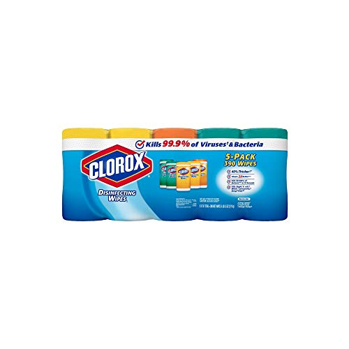 An Item of Clorox Disinfecting Wipes, Variety Pack (78 ct, 5 pk.) - Pack of 1 - Bulk Disc ()