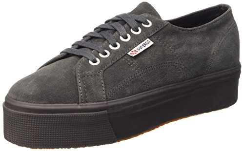 2790 Grey Sneaker Donna Full suew Stone Superga SxqdF7S