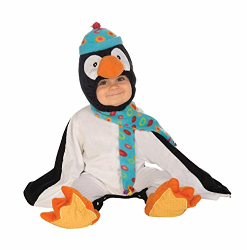 Fish Finger Fancy Dress Costume (Cute Penguin Baby Infant Costume up to 23 Lbs. Marching Animal Bird Halloween)