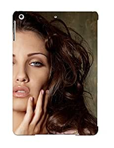 Defender Case With Nice Appearance (celeste Star Women Adult Model Brunees Sexy Babes Face ) For Ipad Air / Gift For New Year's Day