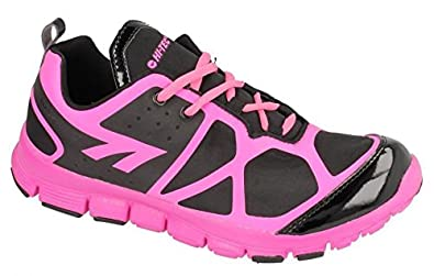c47921e6dc7 Hi-Tec Ladies Womens Gym Running Jogger Walking Lace Up Trainers Shoe Size  4-8-