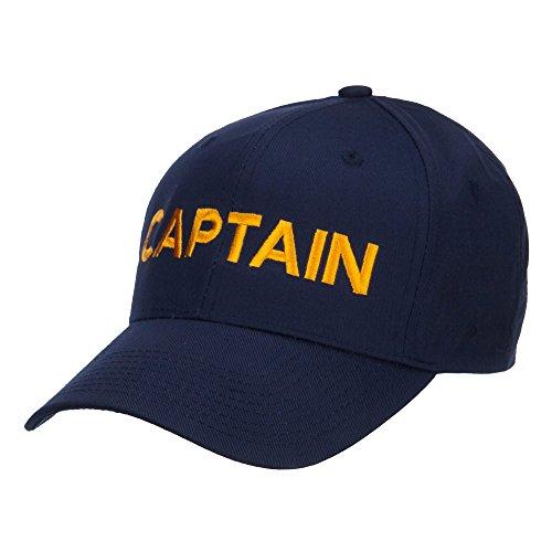 48df184ad86 E4hats Captain Embroidered Cap - Navy OSFM in Dubai - UAE