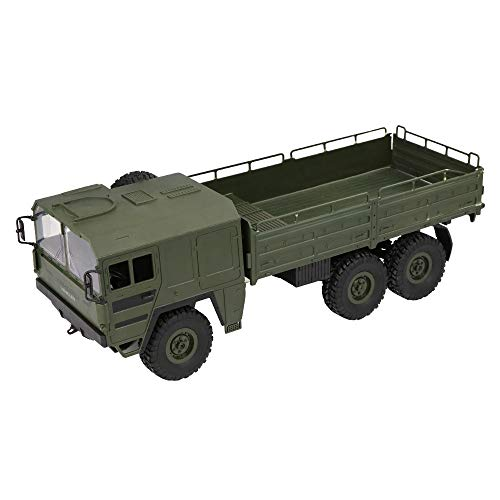 Inkach Clearance Military Truck, Off-Road Army RC Car 2.4Ghz 1 :16 4WD Electric Remote Control Transport Trucks Vehicle (Green)